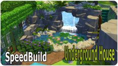 The Sims 4 SpeedBuild | Underground House (No CC) The Sims, Sims 3, Underwater House, Underground Homes, Sims 4 Houses, Tiny Living, Animal Crossing, Indoor Outdoor, Fantasy Art