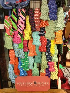 Bow ties galore from Southern Proper nothing looks better on a guy then bowties! Southern Proper, Southern Charm, Southern Belle, Preppy Style, My Style, Southern Gentleman, True Gentleman, La Mode Masculine, To My Future Husband