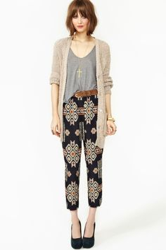 Tribal Beat Pants in Whats New at Nasty Gal