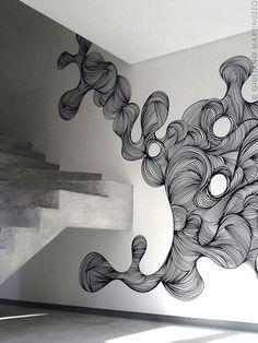 Graffite feito apenas com canetas