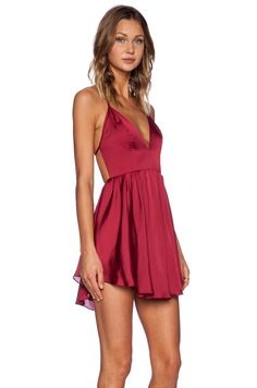 NBD NBD Get Out Dress in Berry | REVOLVE