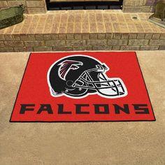 """FANMATS NFL - Atlanta Falcons Doormat Rug Size: 1'8"""" x 2'6"""", Color: Red"""
