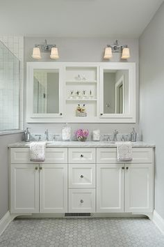 amazing Small Bathroom Remodel and makeover before and after: Keep It Simple include shower, tile, On a budget, vanity, with tub, layout, shower, farmhouse, DIY, Space saving, etc