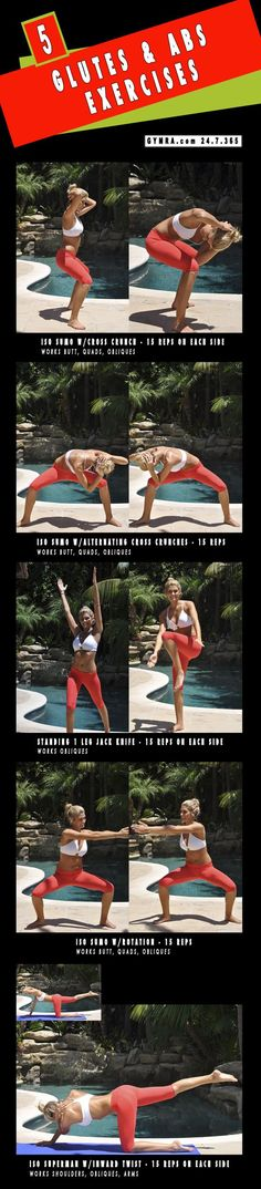 Glutes and Abs Workout.