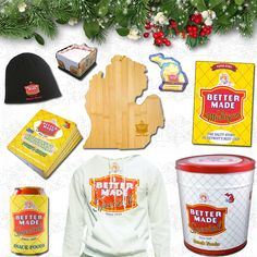 #BetterMade Gift Ideas Under $25 https://store.bettermadesnackfoods.com/index.php?route=product/category&path=74