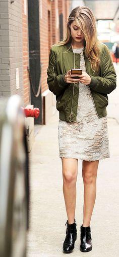 gigi hadid olive jacket outfit  #jacket #olive #olivejacket #gigi #gigihadid #outfit #outfitmag #outfitmagazine #fashion #newseason #2017summer #summer #street #streetfashion #ootd #dailyootd #celeb #celebrity #celebsfashion #celebsoutfit