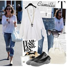 Camilla by sourcat on Polyvore featuring мода, Citizens of Humanity, Friis & Company, Amrita Singh, Isaac Mizrahi, Giuseppe Zanotti, G by Guess, Crate and Barrel, Cole Haan and Grace