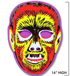 Retro-a-go-go! - Wolfie Mask Metal Sign*, $24.99 (http://www.retroagogo.com/wolfie-mask-metal-sign/)