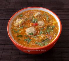 Romanian Food, Tasty, Yummy Food, New Recipes, Deserts, Curry, Food And Drink, Soup, Homemade