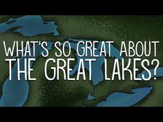 The North American Great Lakes — Huron, Ontario, Michigan, Erie, and Superior — are so big that they border 8 states and contain 23 quadrillion liters of water. Social Studies Activities, Teaching Social Studies, Teaching Science, Science Activities, Paddle To The Sea, World Geography, Basic Geography, Teaching Geography, Lake Huron