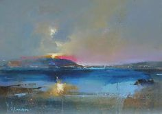 Across the Loch by Peter Wileman PPROI RSMA EAGMA FRSA