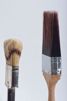Badger bristle brush versus Polyester bristle brush How to Choose the Right Paint Brush for a Great Finish