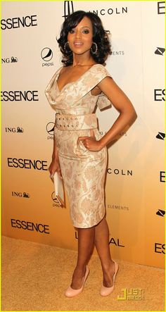 Kerry Washington. Strut yo' stuff sista!