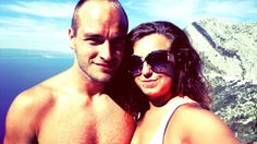 me and my boyfriend on vacation in Croatia. Summer 2013