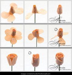 Her Majesty Rose---Part 3 of 8---written directions on post---http://astoriaflowers.blogspot.com/2012/01/blog-post_7452.html#more