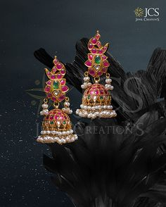 Gold Jewellery Shops in Chennai - Gold Jewellery in Chennai - JCS Jewellery Wedding Jewellery Designs, Gold Wedding Jewelry, Gold Jewellery Design, Gold Jewelry, Jewellery Showroom, Jewellery Shops, Indian Jewelry Earrings, Daughters Day, Gold View