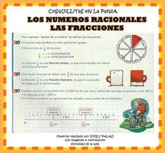 Numeros racionales- fracciones
