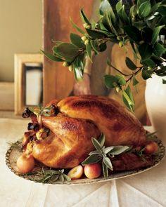 Perfect roast turkey for Christmas.