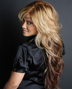 Cute Hairstyles For Wavy Hair Unique Cute Hairstyles For Long Hair Womens  Pinterest  Side Bangs Wavy