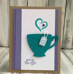 basteln karten teebeutel idee stampin up #bastelideen #weihnachtskarten #christmascards #cards #tea