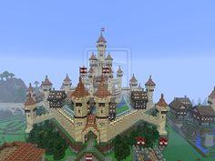minecraft castle   Minecraft Sandstone Castle by UNDEADWARRIOR7411