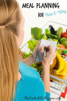 Meal Planning - HOW and WHY