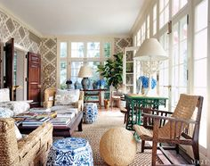 Tory Burch Hampton Home, Vogue