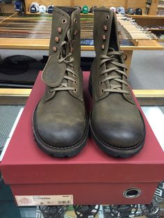 Wolverine 1000 Mile Hartmann Model Boot-Olive Color- Multiple Sizes- #W00920 #Wolverine #Military