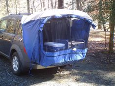 DAC Mid - Size Truck Tent honda element - $140 on Amazon Prime -- decided to just get hanging netting instead -- this might be good though if I ever decide to do alot of Element camping.  I have not been able to tell if it obscures the moon roof.