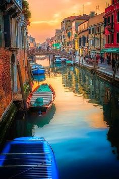 'Venicimo' Canal Sunset, Venice, Italy by Neil Cherry. Venice is amazing. Strolling or Gondolaing nothing better. Call The Travel Store to plan you vacation today Places To Travel, Places To See, Travel Destinations, Travel Tips, Places In Italy, Romantic Destinations, Romantic Places, Work Travel, Travel Abroad