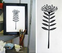 protea black and white - Google Search