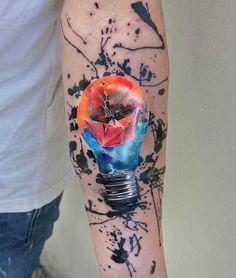 Most impressive Watercolor Tattoos