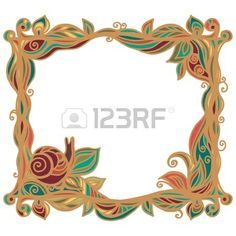 18563662-vintage-frame-with-plants-and-snail-isolated-on-a-white-background-with-text-field-vector.jpg (450×450)