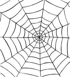 Op deze manier is het spinnenweb ook gevestigd op het ijzerdraad. Alleen is er iets 'anders', de draden die eromheen zitten die de ronde vorm maken heb ik weggelaten.