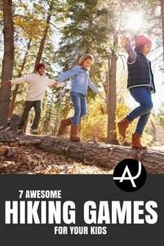 Hiking Games for Kids - Hiking Tips For Beginners – Backpacking Tips and Tricks for Women and Men via @theadventurejunkies