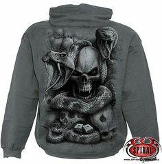 Clothes metal skull