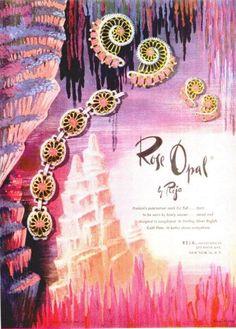 Reja ''Rose Opal'' jewelry ad