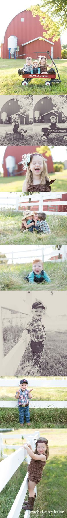Children's farm rustic country session - Rachel Marthaler Photography - Hastings, MN twin cities photographer