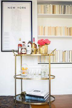 The Best Bar Carts on Pinterest