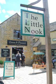 The Green & Pleasant Tea Rooms, Bourton-on-the-Water, Cotswolds