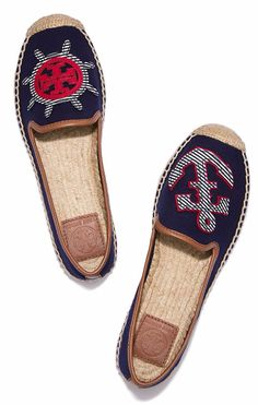 Visit Tory Burch to shop for Maritime Mismatched Espadrille and more Womens  View All. Find designer shoes, handbags, clothing & more of this season's  latest ...