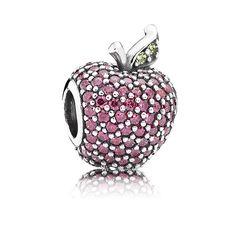 PANDORA Red Pavé Apple