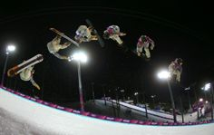Danny Davis of the United States competes in the Snowboard Men's Halfpipe Finals (c) Getty Images Multiple Exposure Photography, Photography Tips, Olympic Sports, Olympic Games, Snowboarding Men, Big Photo, World Of Sports, Winter Olympics, Budapest