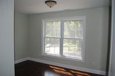 Soon-to-be living room color: Benjamin Moore Silver Sage!