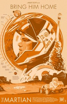 The Martian by Javier – Home of the Alternative Movie Poster -AMP- - Geschenk Valentinstag Mann Original Movie Posters, Movie Poster Art, Space Movies, Culture Art, Bros, Kunst Poster, Alternative Movie Posters, Cool Posters, Space Posters