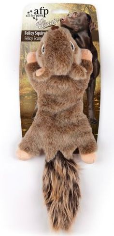 All for Paws Dog Toy Classic Felicity Squirrel