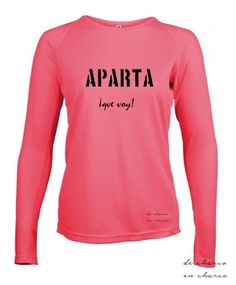 Camiseta manga larga varios COLORES deporte/running mujer cuello redondo APARTA…
