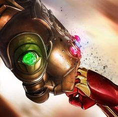 Thanos vs Iron Man - Samuel Cheve