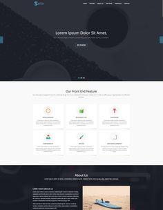 Switch - Onepage Business Wordpress Theme - Free
