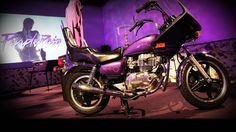 Prince's motorcycle in the Purple Rain Room ~ What It's Like to Tour Paisley Park Where Prince Lived and Worked Prince Images, Photos Of Prince, Inside Paisley Park, Princes House, Prince Paisley Park, Little Red Corvette, Prince Purple Rain, Roger Nelson, Prince Rogers Nelson